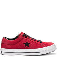 ONE STAR RED SUEDE 163246C