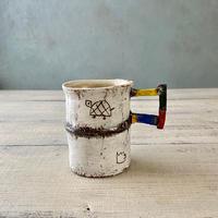 マグカップ小 岩元鐘平