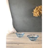ポーランドヴィンテージガラス 小鉢2個セット