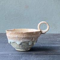 片瀬和宏 マグカップ平 薄水色