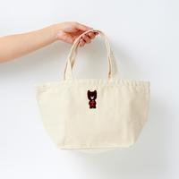 クックマ刺繍ランチバッグ  |  ナチュラル