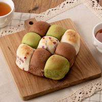 【オーブンいらず楽ちんパン】3色ちぎりパンの材料セット