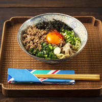 【coco_kontasuさんプロデュース】茅乃舎 煮干しだしの台湾まぜそば材料セット(2人前)