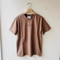 ●送料全国一律198円●<women>Moname(モナーム) ロゴ Tシャツ (41102041)  /ブラウン