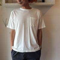 ●送料全国一律198円●<men>RINEN(リネン)ポケットTシャツ 19022 /オフホワイト