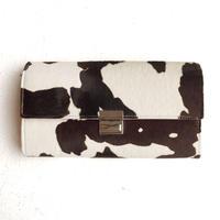 <women>isola(アイソラ)ギャルソン型長財布・へカーフ三段錠(3923)   / ホルスタイン