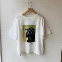 ●送料全国一律198円●<women>FIL DE FER(フィル デ フェール)プリント Tシャツ (10-1-08-225-0-1-1)