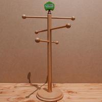 ドイツ製 木製小物かけ(A)