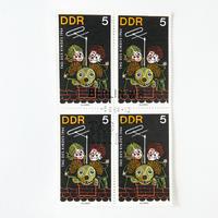 旧東ドイツ こどもの日記念切手