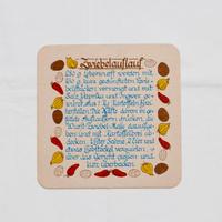 ドイツ レシピカード 四角