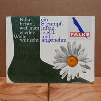 旧西ドイツ製 FALKE看板(A)
