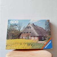 旧西ドイツ製ジグソーパズル (C)