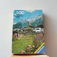 旧西ドイツ製ジグソーパズル (A)
