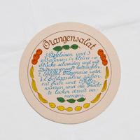 ドイツ レシピカード 丸