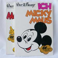 ドイツ ミッキーマウス本 2冊組