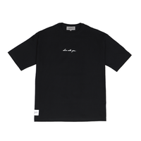 BIG SILHOUETTE T-SHIRT / BLACK <L-2136>