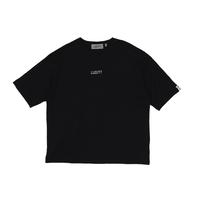 BIG SILHOUETTE T-SHIRT / BLACK <L-2002>