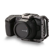 Half Camera Cage for BMPCC 4K/6K - Tactical Grey