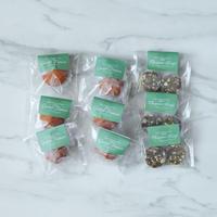 冷凍インド菓子【2種×6個】グラブジャムン6パック/デーツ&ナッツバルフィ3パック