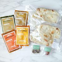 【お試しセット】カレー4種&ナン&インド菓子2種(送料込み)