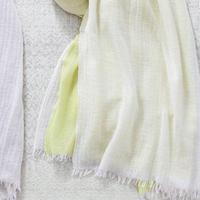 [6490] カシミア3重織りストール