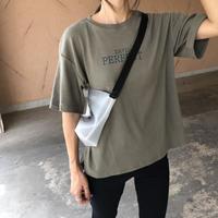 柔らかな肌触り!シンプルロゴtシャツ(3color)【クリックポスト対象商品】