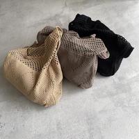 メッシュショルダーバッグ(3color)