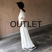 【OUTLET】大人気シリーズ!バックプリーツスウェットTシャツ ワンピース【クリックポスト対象商品】