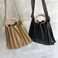 プリーツデザイン2WAY BAG(2color)
