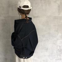 10月22日再入荷!大人な抜け感ゆるデニムジャケット(2color)