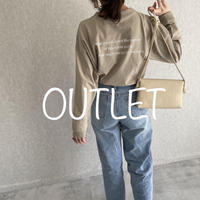 【OUTLET】バックロゴロンT