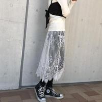 レースラップスカート(2color)【クリックポスト対象商品】