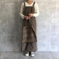 バック裾スリット!美シルエットコーデュロイジャンスカ(3color)【クリックポスト対象商品】