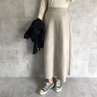 大人なマット質感!スエードロングスカート(3color)【クリックポスト対象商品】