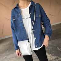 シャツ感覚!7.5オンス薄手デニムジャケット【クリックポスト対象商品】