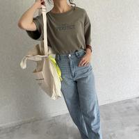 もっちり素材シンプルロゴtシャツ(2color)