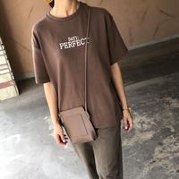 柔らかなもっちり素材!シンプルロゴtシャツ(3color)【クリックポスト対象商品】