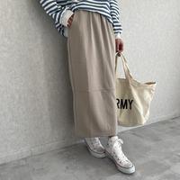 大人リラックスカジュアル!スウェットロングスカート(2color)【クリックポスト対象商品】