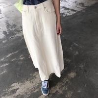 【OUTLET】柔らかな着心地!ツイルフレアロングスカート 【クリックポスト対象商品】