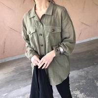 【期間限定価格】大人な透け感!ゆる可愛いオーバーサイズシャツ【クリックポスト対象商品】