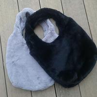 フェイクファーショッパーバッグ(2color)【クリックポスト対象商品】
