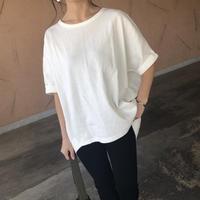 ビッグシルエット!サーマルドルマンTシャツ(2color)【クリックポスト対象商品】