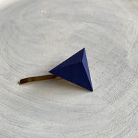 三角形ポニーフック ブルー