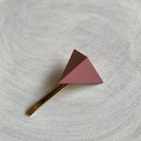 三角形ポニーフック ピンク