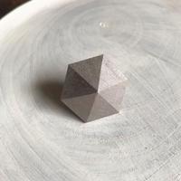 六角形イヤリング(シルバー)