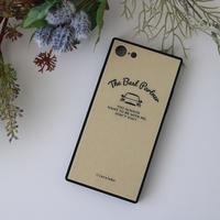 スクエア型 背面ガラスiPhoneケース-TheBestPartner