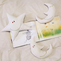 お月様 & お星様 ☺︎ クッション (small)