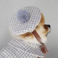 new THERESTOFLIFE ベレー帽 Blue
