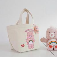 care bear トートバッグ/pink