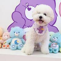 care  bear バンダナ purple